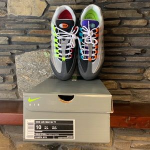 NIB Nike Air Max 95 Greedy Size 10 810374-078 Auth